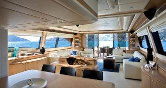 Maxi Beer  Ferretti Yacht 881 Interior 3