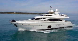 Maxi Beer  Ferretti Yacht 881 Exterior 2