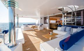 Windquest  JFA Catamaran 86 Interior 9