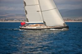 Thalima  Southern Wind Sloop 110' Exterior 1