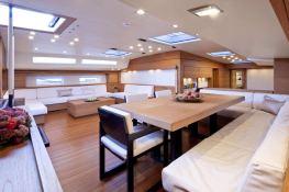 Thalima  Southern Wind Sloop 110' Interior 15