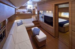 Thalima  Southern Wind Sloop 110' Interior 18