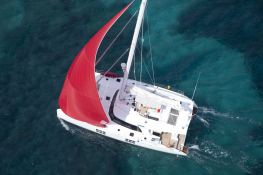 In the Wind Sunreef Catamaran Sail 58 Exterior 2