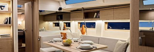 Oceanis 51.1 with A/C Interior 2