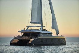 7X Split  Sunreef Catamaran Sail 80' Exterior 2