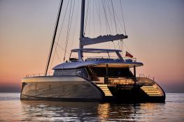 7X Split  Sunreef Catamaran Sail 80' Exterior 1