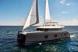 7X Split  Sunreef Catamaran Sail 80' Exterior 6