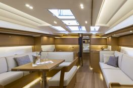 Dufour 520 GL with watermaker & A/C Interior 2