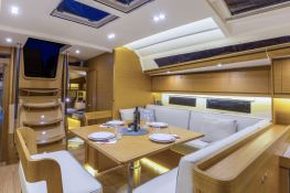 Dufour 520 GL with watermaker & A/C Interior 1