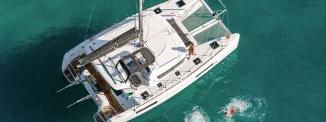 Charter catamaran rental