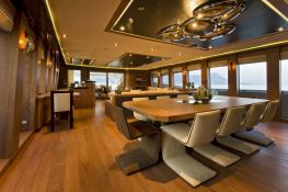 Vantage  Palmer Johnson Yacht 46M Interior 1