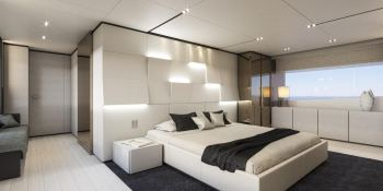 December Six  Ferretti  Line 33M Interior 4
