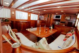 Silver Star II  Turkish Gulet Goelette  26.7M Interior 6