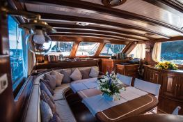 Silver Star II  Turkish Gulet Goelette  26.7M Interior 17