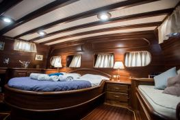 Silver Star II  Turkish Gulet Goelette  26.7M Interior 22