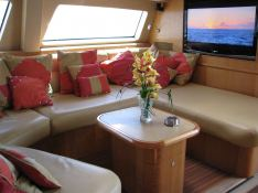 Custom 90 Catana Catamaran Interior 1