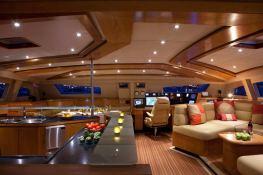 Custom 90 Catana Catamaran Interior 15