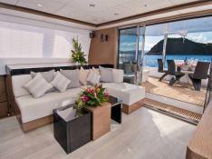 EUPHORIA  Sunreef Catamaran Sail 60 LOFT Interior 1
