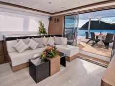 EUPHORIA  Sunreef Catamaran Sail 60 LOFT Interior 1