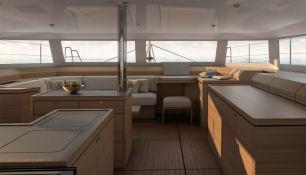 Catamaran 48 Dufour Yachts Interior 1