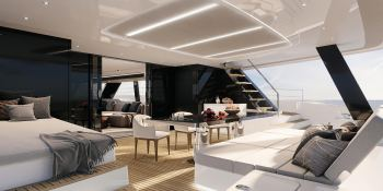Power 70 Sunreef Catamaran Interior 2