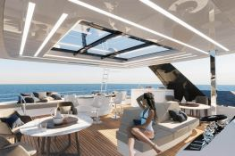 Power 70 Sunreef Catamaran Interior 4