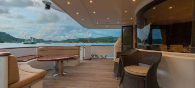XANADU of LONDON  Moonen 34m Yacht Interior 6