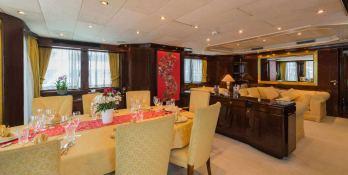 XANADU of LONDON  Moonen 34m Yacht Interior 8