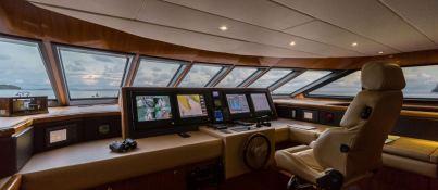 XANADU of LONDON  Moonen 34m Yacht Interior 11