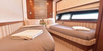 LITTLE ONE  Baia Yachts Italia 70 Interior 3