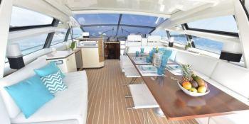 LITTLE ONE  Baia Yachts Italia 70 Interior 4