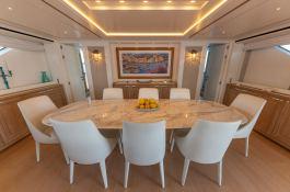 MY WAY  San Lorenzo Yacht 112 Interior 19