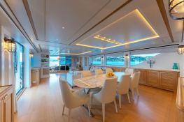 MY WAY  San Lorenzo Yacht 112 Interior 13