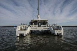 CYGNUS CYGNUS  Ocean Quality Systems Catamaran 61 Exterior 4