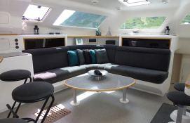 Voyage 500 Voyage Catamaran Interior 1
