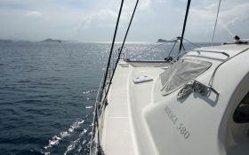 Voyage 580 Voyage Catamaran Exterior 2
