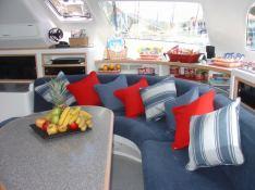 Voyage 580 Voyage Catamaran Interior 1