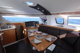 Lipari  41 Fountaine Pajot Interior 1