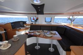 Lipari  41 Fountaine Pajot Interior 2
