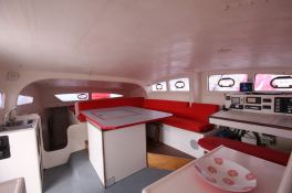 TS 50 XL Catamaran Interior 1