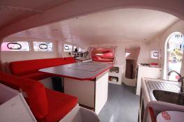 TS 50 XL Catamaran Interior 2