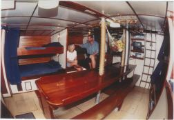 Sloop 20M Interior 1