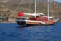 - GD 28M Turkish Gulet Exterior 1