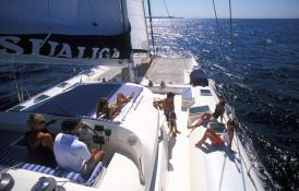 Nautitech 82 Nautitech Catamaran Exterior 2