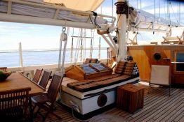 Raja Laut   Schooner 100' Interior 11