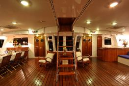 Douce France  Alu Marine Catamaran 42M Interior 9