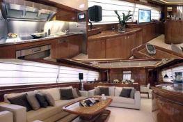 Camarik  Ferretti Yacht 34M Interior 2