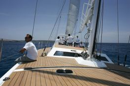 Fortuna  Mafasea Ketch 25M Interior 1