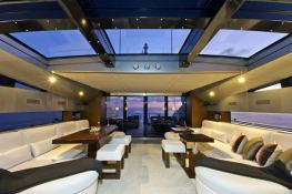 High Roller  Baglietto Yacht 105' Interior 3