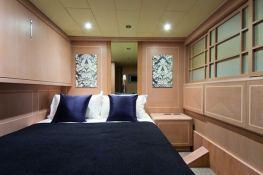 High Roller  Baglietto Yacht 105' Interior 5